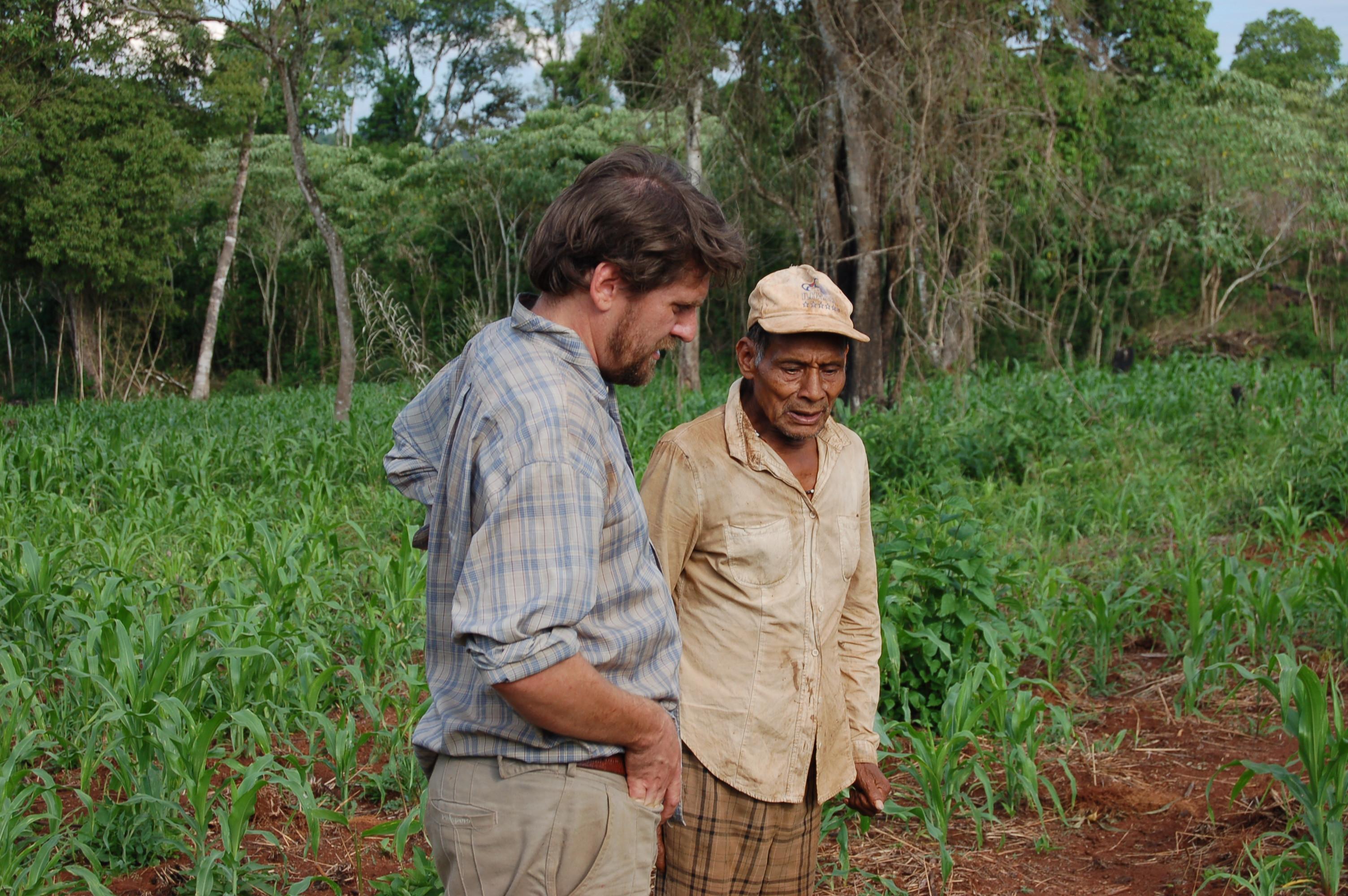 Argentina-14-034-Hector keller+Guarani Credit G.Prance Eden Project-Bodelva