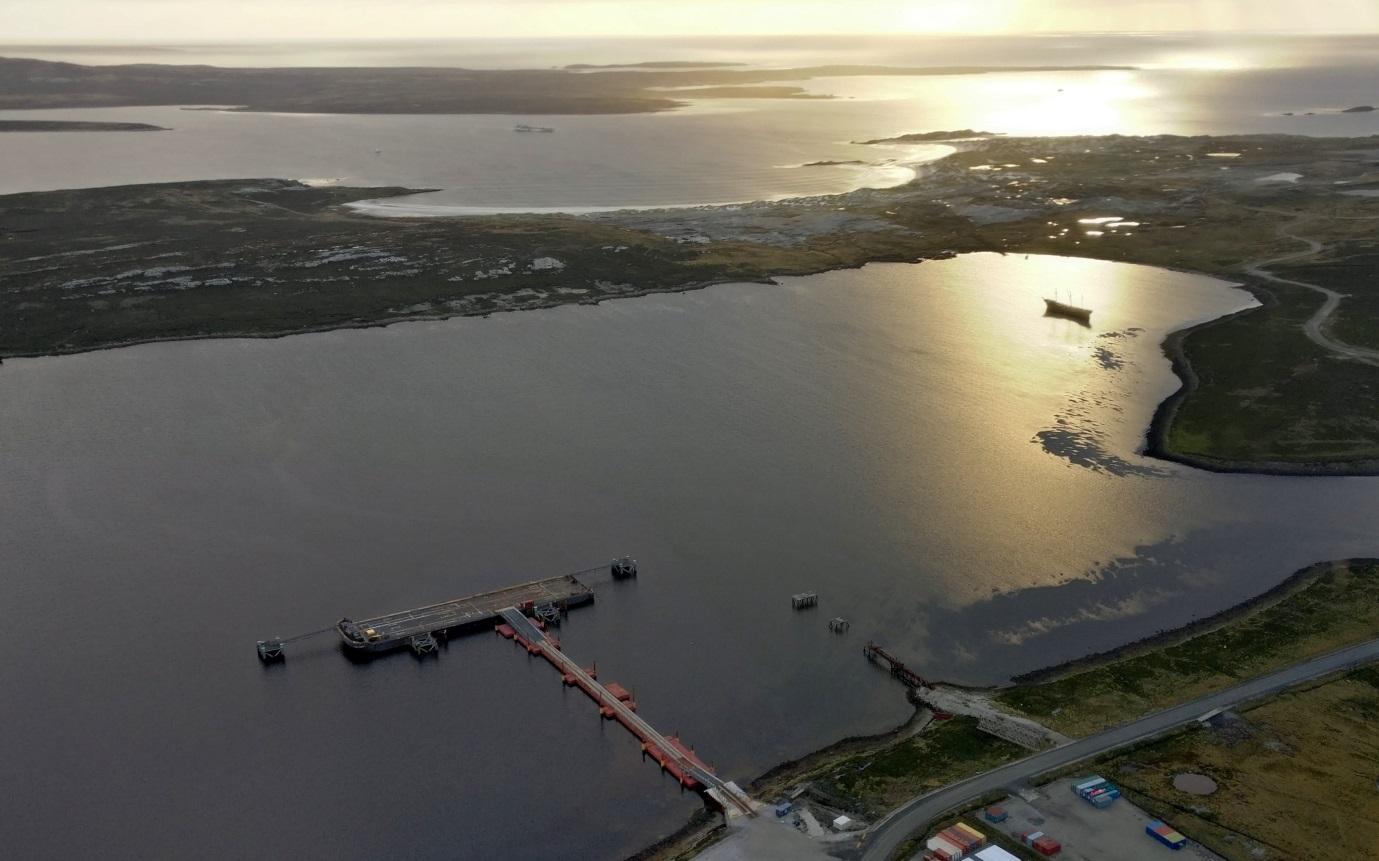 Falklands Marine spatial planning, Credit Neil Golding