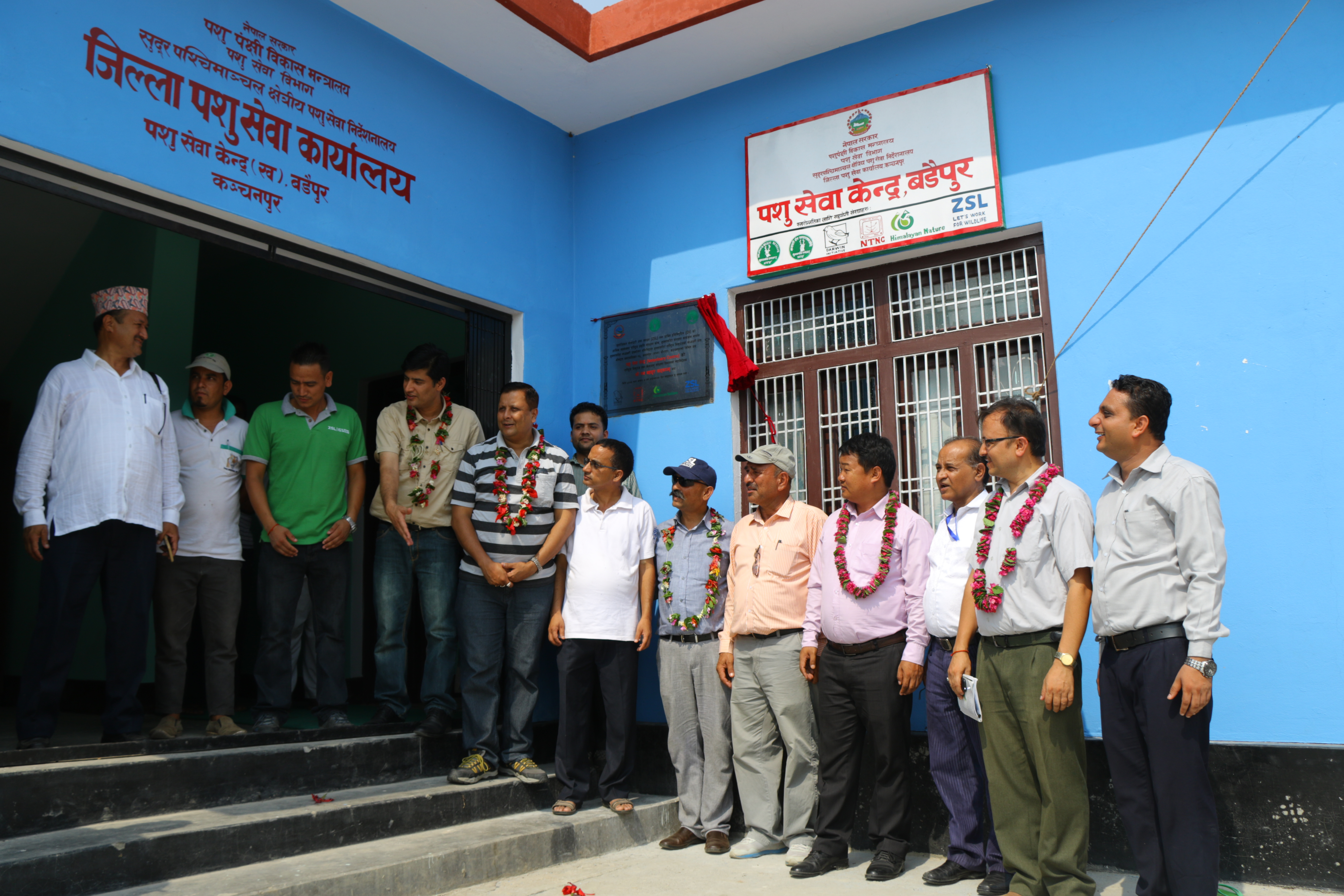 Nepal 22-009 Inauguration of Darwin Initiative supported veterinary centre, Credit - ZSL