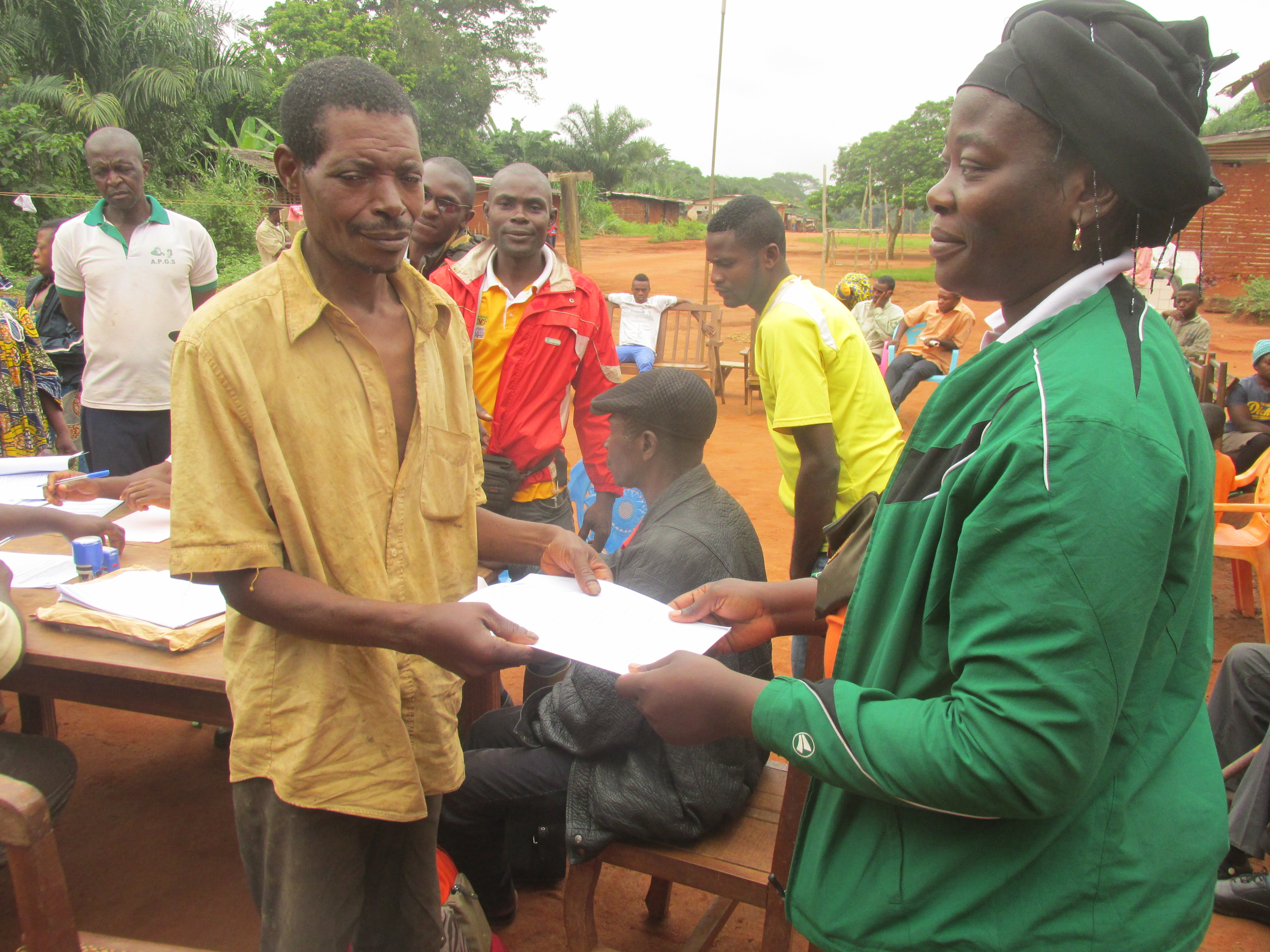Cameroon 24-005 Alternative protein source support signed for, Credit - FCTV